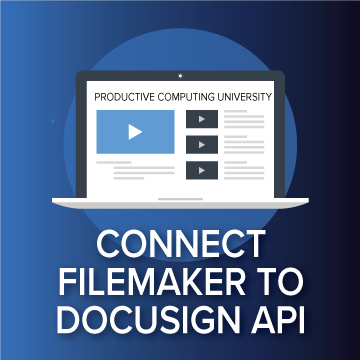 Connect FileMaker to DocuSign logo