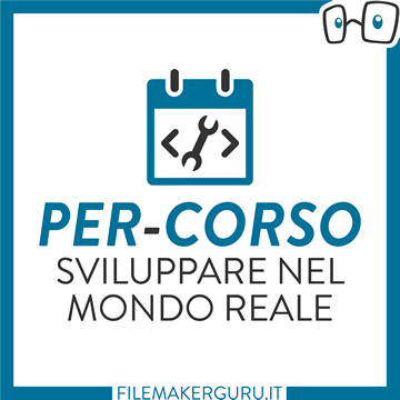 SVILUPPARE NEL MONDO REALE logo