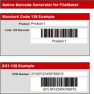Code 128 Barcode Generator logo