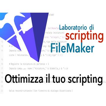 Ottimizza il tuo scripting logo