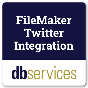 FileMaker Twitter Integration logo