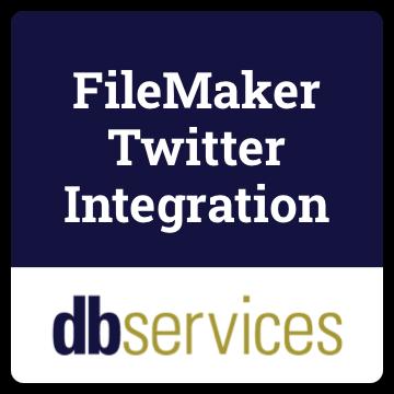 FileMaker Twitter Integration logo