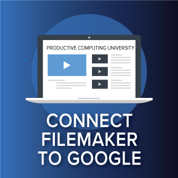 Connect FileMaker to Google logo