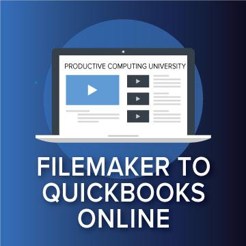 FileMaker & QuickBooks Online logo