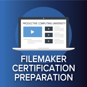 FileMaker Certification Prep logo