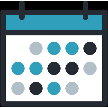 カレンダーヒートマップ logo