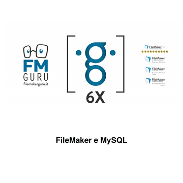 Collegare FileMaker a MySQL logo