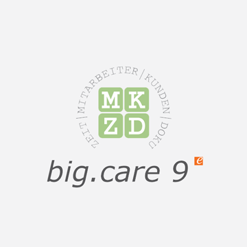 big.care für Sozialträger logo
