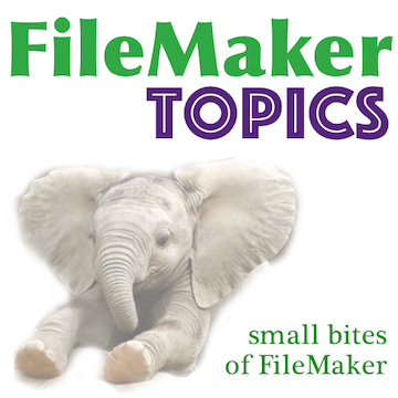 FileMaker Topics logo