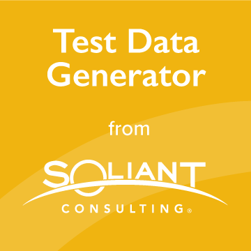 Soliant Test Data Generator logo