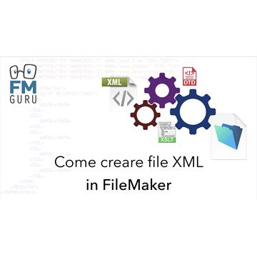 Creare fileXML in FileMaker logo