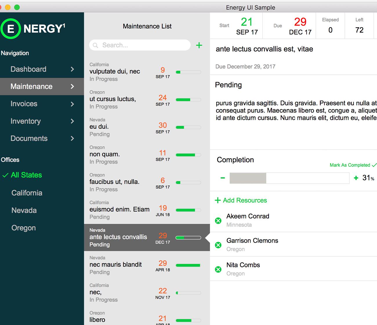 UI Energy Sample File  logo