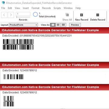GS1 DataBar Barcode Generator logo