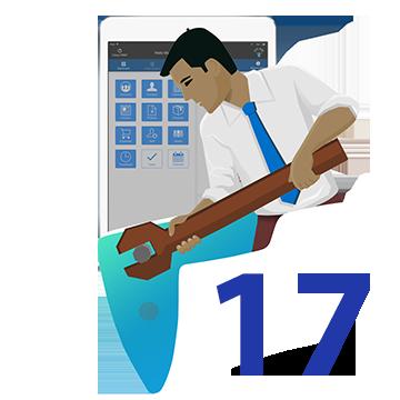 Go 17 logo