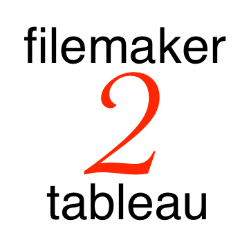 FileMaker 2 Tableau logo