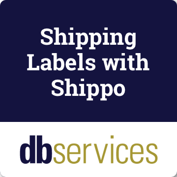 Shipping Labels with Shippo logo