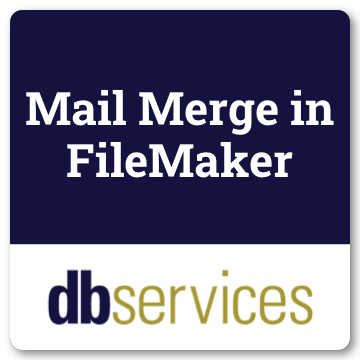 Mail Merge in FileMaker logo
