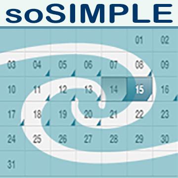 soSIMPLE Calendar logo