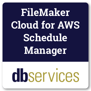 FileMaker Cloud for AWS Schedule Manager logo