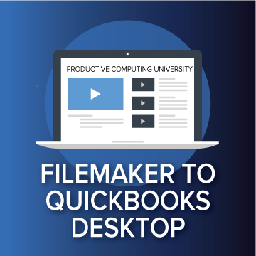 FileMaker & QuickBooks Desktop logo