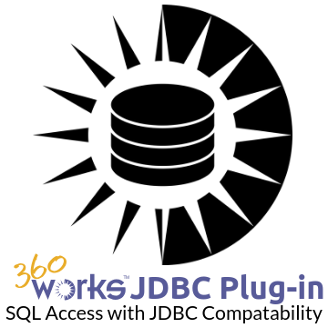 360Works JDBC Plugin logo