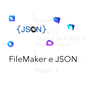 Usare FileMaker e JSON logo