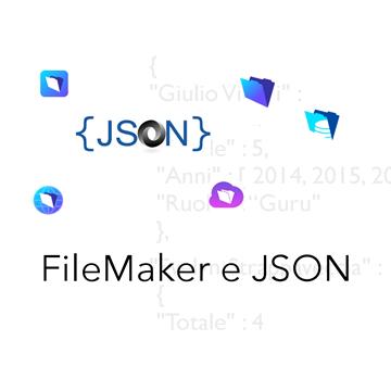 Usare FileMaker e JSON logo