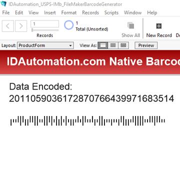 USPS IMb Barcode Generator logo