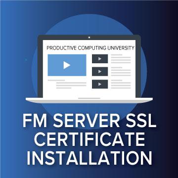 FMS - Install SSL Certificates logo