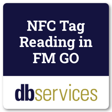 NFC Tag Reading in FM Go logo